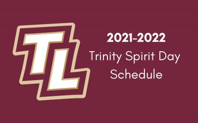 Spirit Day Schedule